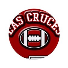 """Las Cruces Football 3.5"""" Button (100 pack)"""