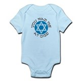 YOU HAD ME AT SHALOM SHIRT JE Infant Bodysuit