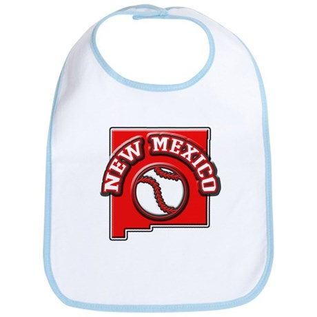 New Mexico Baseball Bib
