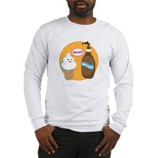 Ice Cream & Chocolate Long Sleeve T-Shirt