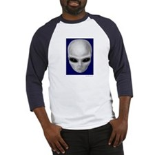 Alien Stare Baseball Jersey (Front & Back Images)