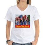 Shriner Color Guard Women's V-Neck T-Shirt