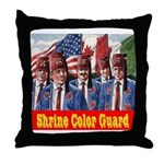 Shriner Color Guard Throw Pillow
