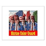 Shriner Color Guard Small Poster
