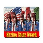 Shriner Color Guard Mousepad