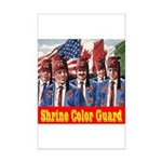 Shriner Color Guard Mini Poster Print