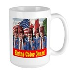 Shriner Color Guard Large Mug