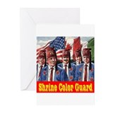 Shriner Color Guard Greeting Cards (Pk of 10)