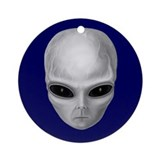 Alien Stare Ornament (Round)