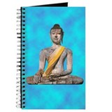 Meditating Stone Buddha Journal