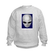 Alien Stare Sweatshirt (Front & Back Images)