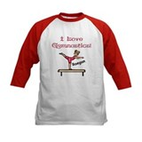 -I Love Gymnastics (Raegan) Tee
