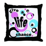 Life-Chance Throw Pillow