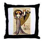 Valentine Cherub Throw Pillow