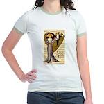 Valentine Cherub Jr. Ringer T-Shirt