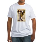 Valentine Cherub Fitted T-Shirt