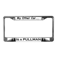 Train -License Plate Frame