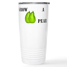 Pear Ceramic Travel Mug
