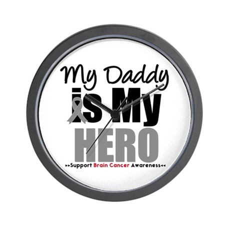 BrainCancerHero Daddy Wall Clock