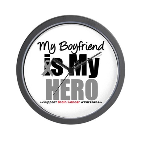 BrainCancerHero Boyfriend Wall Clock
