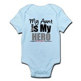 BrainCancerHero Aunt Infant Bodysuit