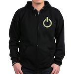 Power Zip Hoodie (dark)