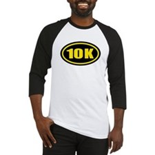 10 K Runner Oval Baseball Jersey