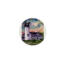 Chatham Cape Cod Lighthouse Painting Mini Button