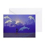 Dolphin Wall Greeting Cards (Pk of 10)