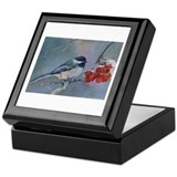 Cute Chickadee lover Keepsake Box