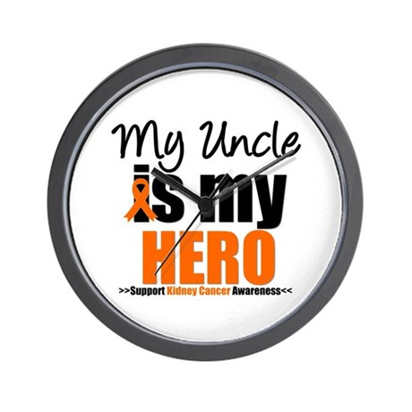 KidneyCancerHero Uncle Wall Clock