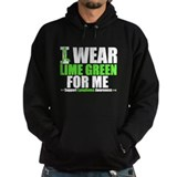 I Wear Lime Green For Me Hoodie