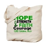 HOPE Cerebral Palsy 3 Tote Bag