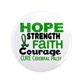 "HOPE Cerebral Palsy 3 3.5"" Button (100 pack)"