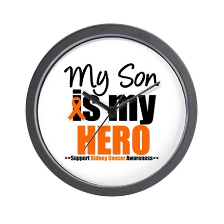 KidneyCancerHero Son Wall Clock