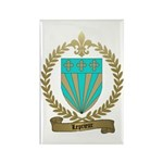 LEPRIEUR Family Crest Rectangle Magnet (100 pack)