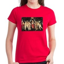 Primavera by Botticelli Tee