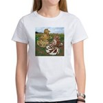 Two Trumpeter Pigeons Women's T-Shirt