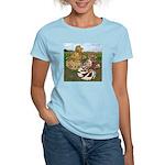 Two Trumpeter Pigeons Women's Light T-Shirt
