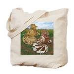 Two Trumpeter Pigeons Tote Bag