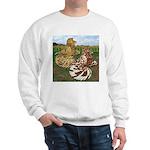 Two Trumpeter Pigeons Sweatshirt