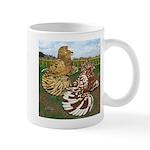 Two Trumpeter Pigeons Mug