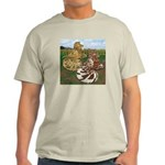 Two Trumpeter Pigeons Light T-Shirt