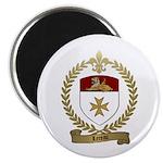 LEREAU Family Crest Magnet