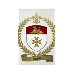 LEREAU Family Crest Rectangle Magnet