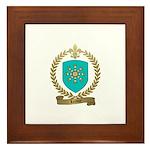 LEROUX Family Crest Framed Tile