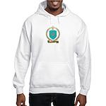 LEROUX Family Crest Hooded Sweatshirt