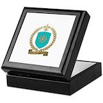 LEROUX Family Crest Keepsake Box