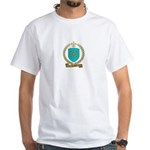 LEROUX Family Crest White T-Shirt
