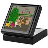 Beagle 1st Christmas Keepsake Box